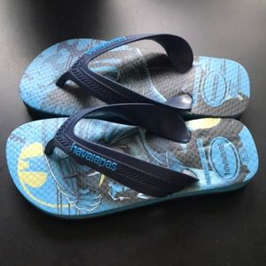 Toddler Boy's Havaianas DC Flip Flops
